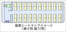 座席シート イメージ
